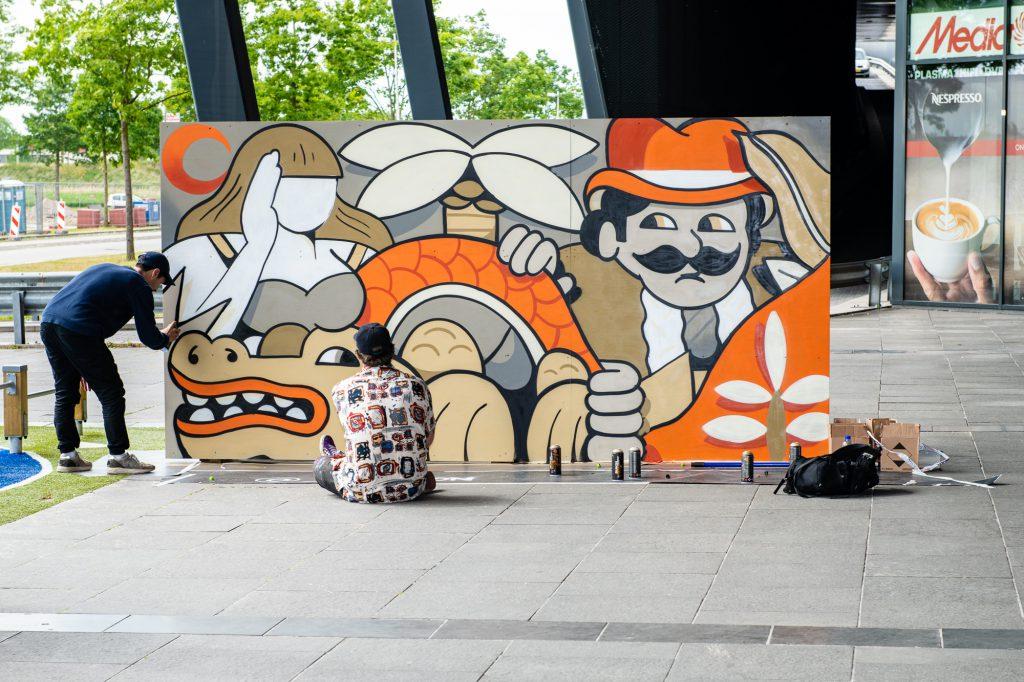 Street Art Event @ The Wall