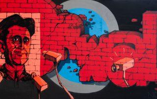StreetArt Veiling: Kunstenaar: Egoïst