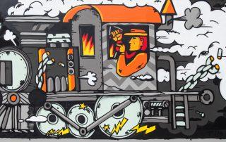 StreetArt Veiling: Kunstenaar: Beginnend snorretje