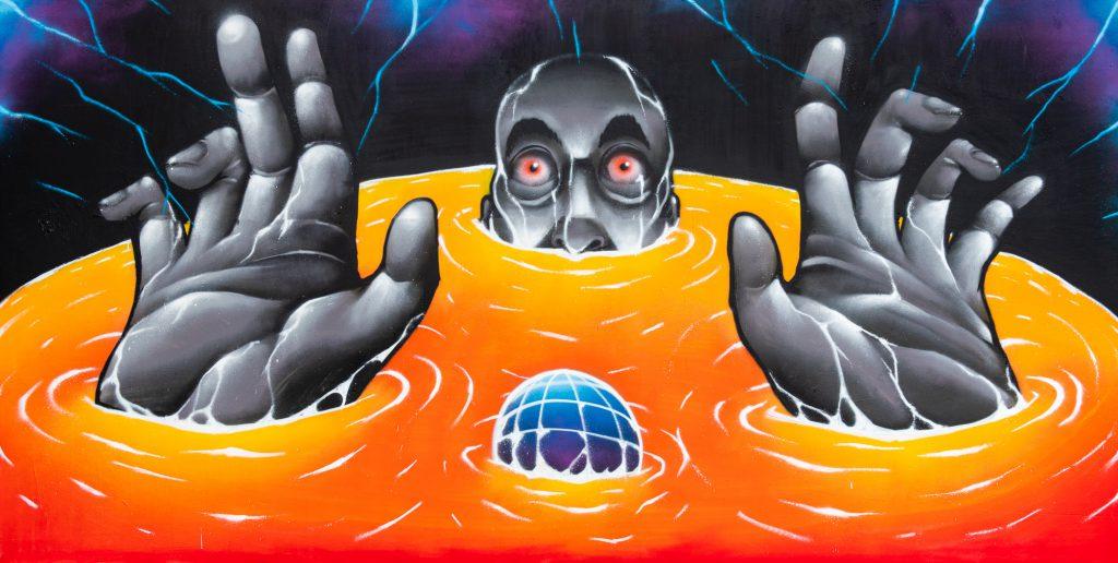 StreetArt Veiling: Kunstenaar: Drone