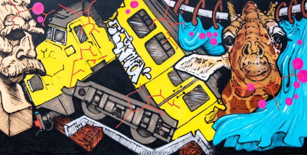 StreetArt Veiling: Kunstenaar: Sigma