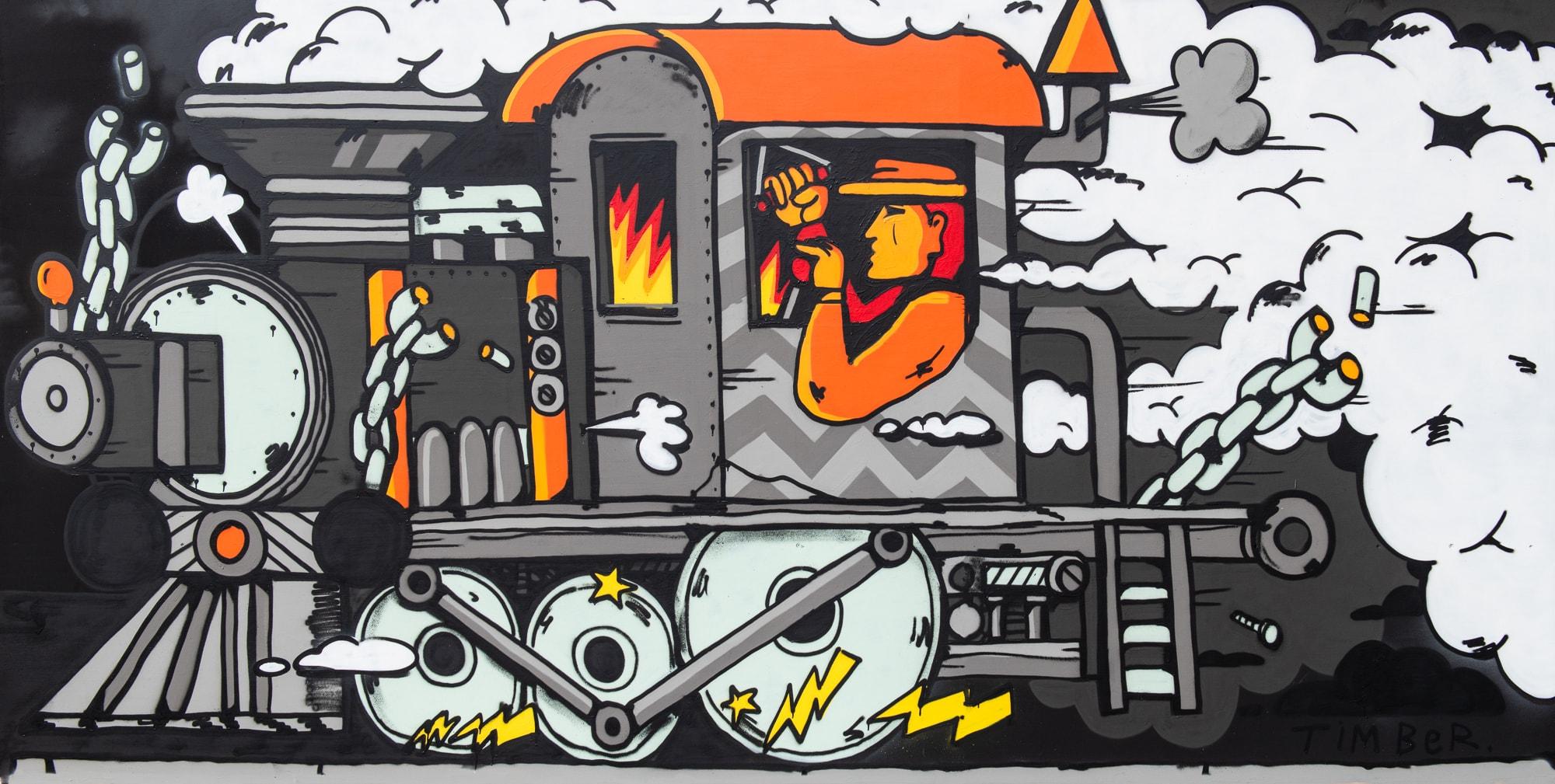 Streetart @ The Wall