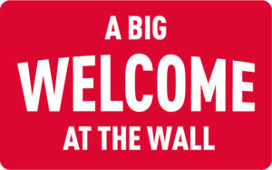A big welcome at The Wall Utrecht