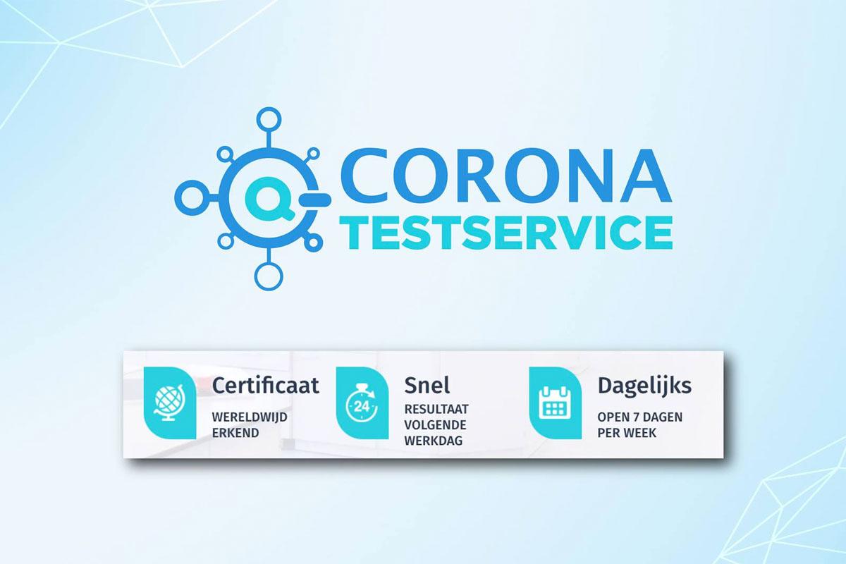 Corona Testservice