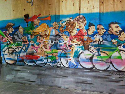 Verfdokter, Robert Jan Brink, @ The Wall
